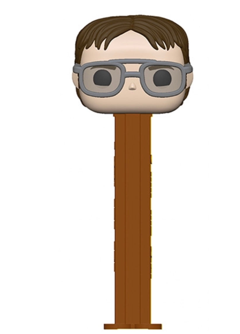 THE OFFICE POP! PEZ Dwight Schrute.(Preorder)