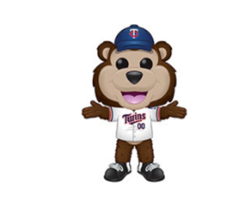 MLB MASCOT FUNKO POP! T.C. BEAR (TWINS) (PRE-ORDER)