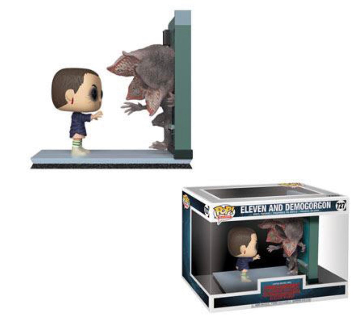 STRANGER THINGS FUNKO POP! ELEVEN & DEMOGORGON (PRE-ORDER)