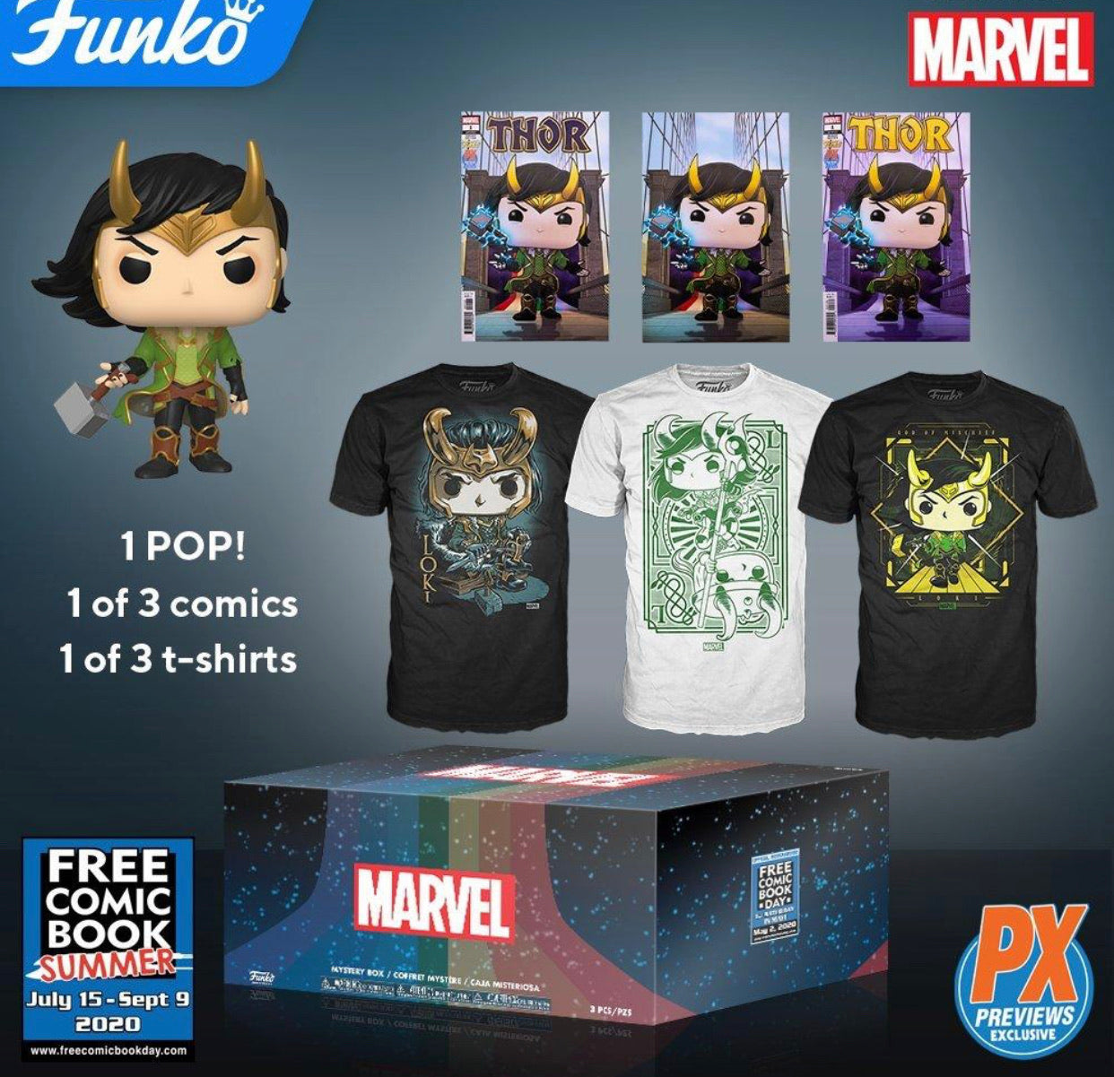 FCBD 2020 Funko PX Marvel Mystery Box(IN STOCK)