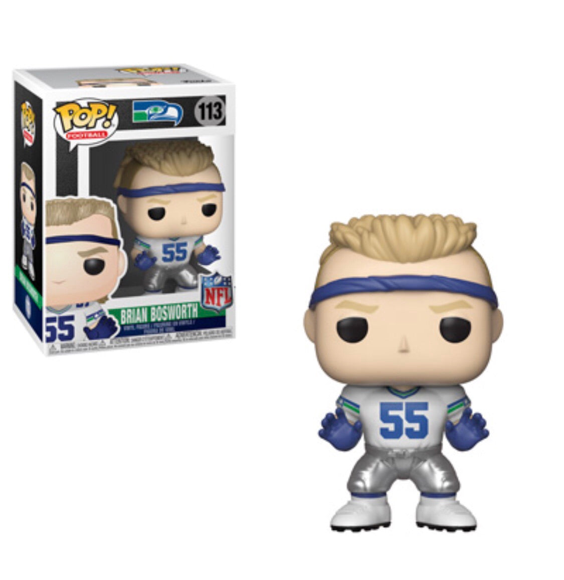Pop! NFL Legends Brian Bosworth