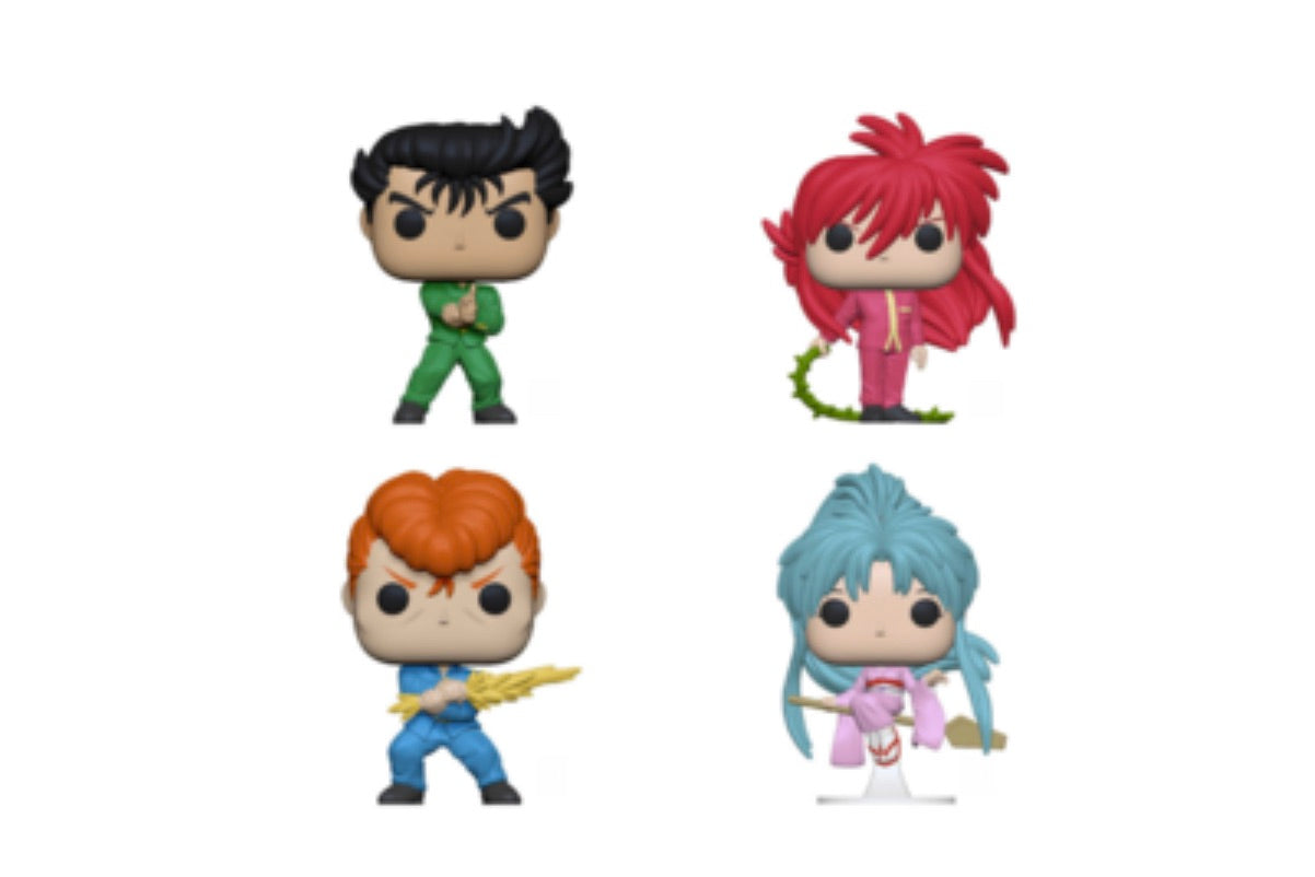 PRE-ORDER - POP! Yu Yu Hakusho Bundle of 4