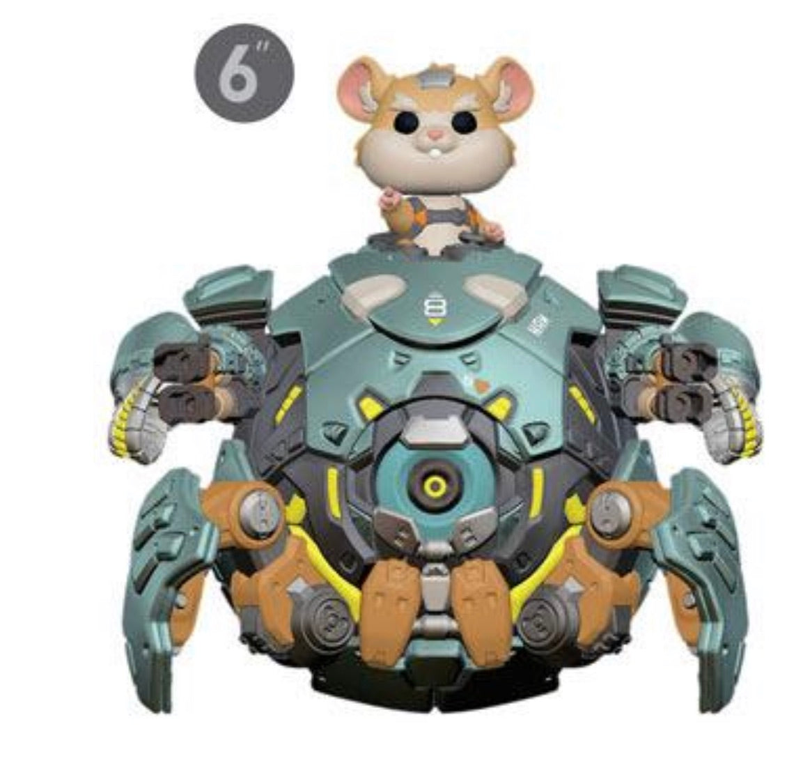 OVERWATCH FUNKO POP! WRECKING BALL (PRE-ORDER)