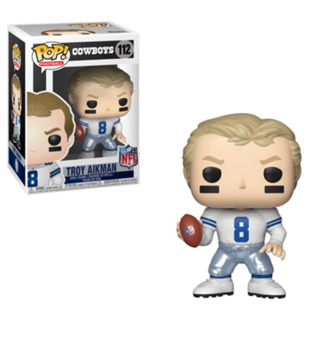Pop! NFL Legends Troy Aikman