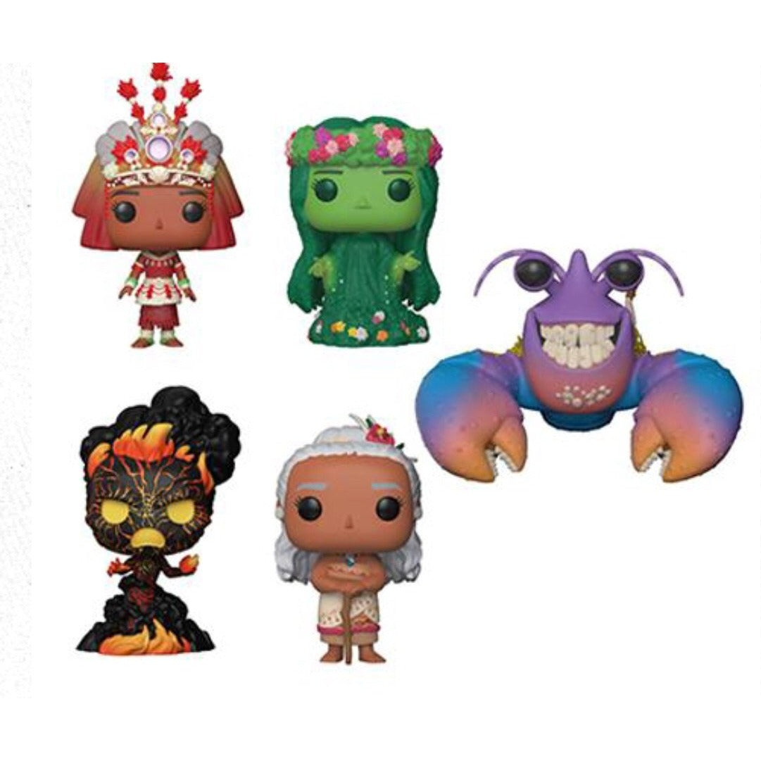 Pre-Order: POP Disney - Moana - Bundle