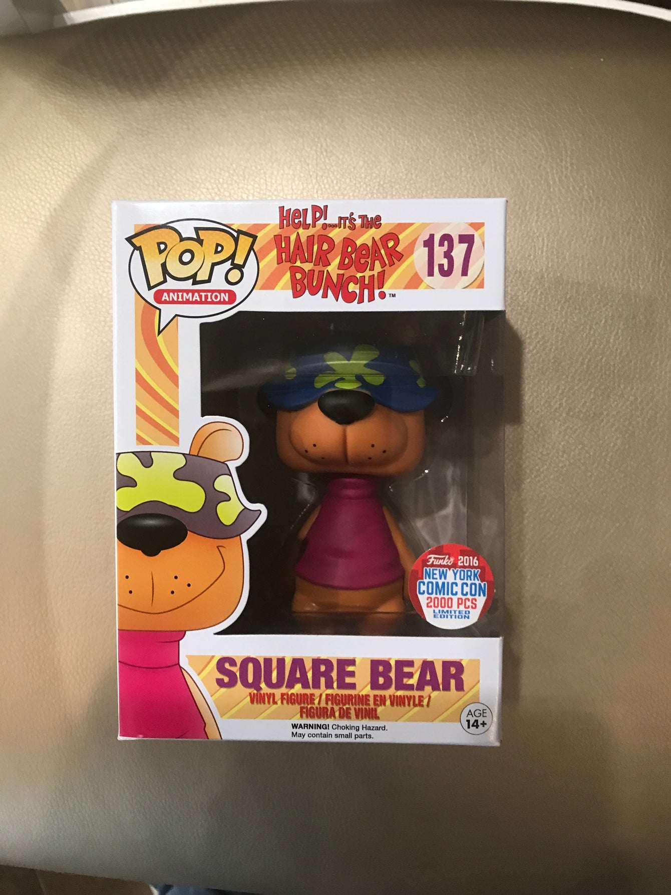 Square Bear NYCC -LC1