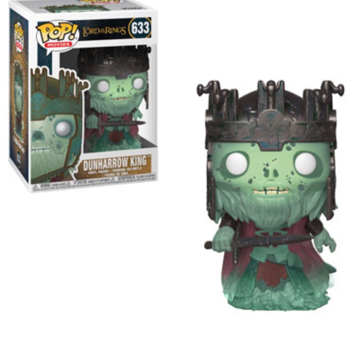 (Preorder) Pop! Movies: Lord of the Rings DunHarrow King