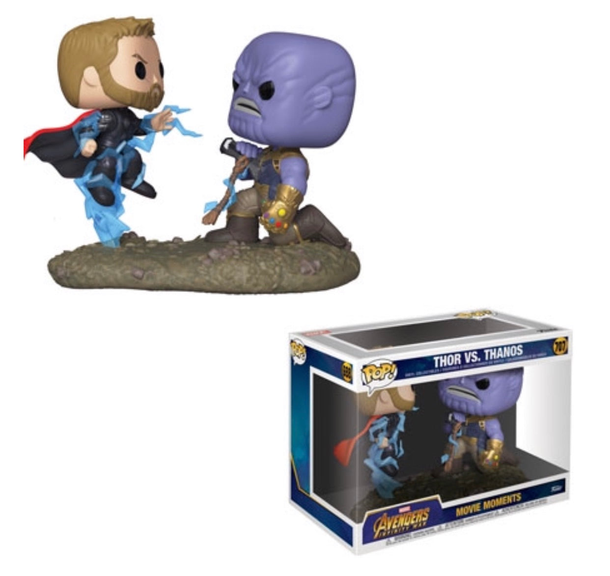 Marvel: Movie Moments – Thor Vs. Thanos(Preorder)