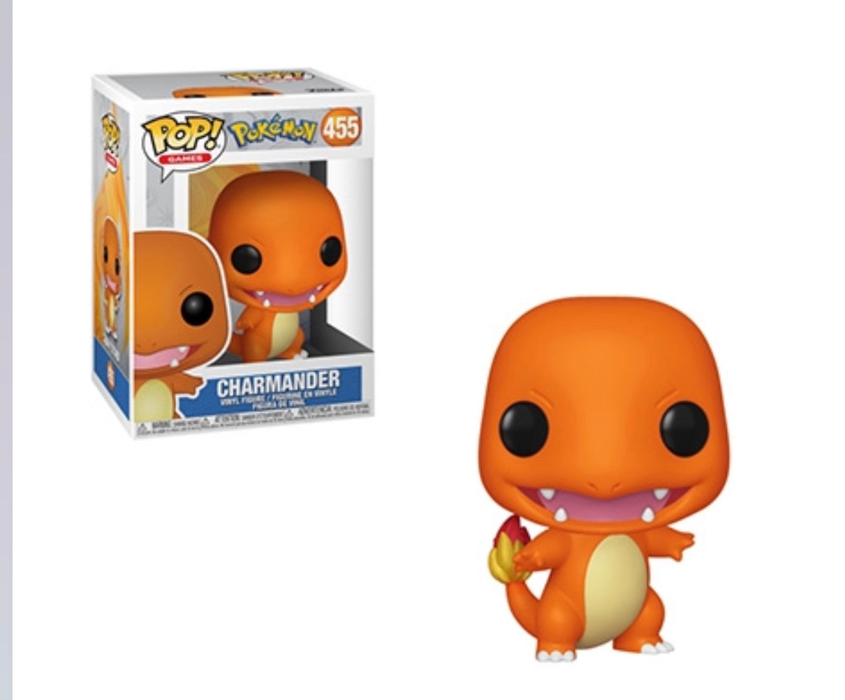 POKEMON FUNKO POP! CHARMANDER #455(Preorder)