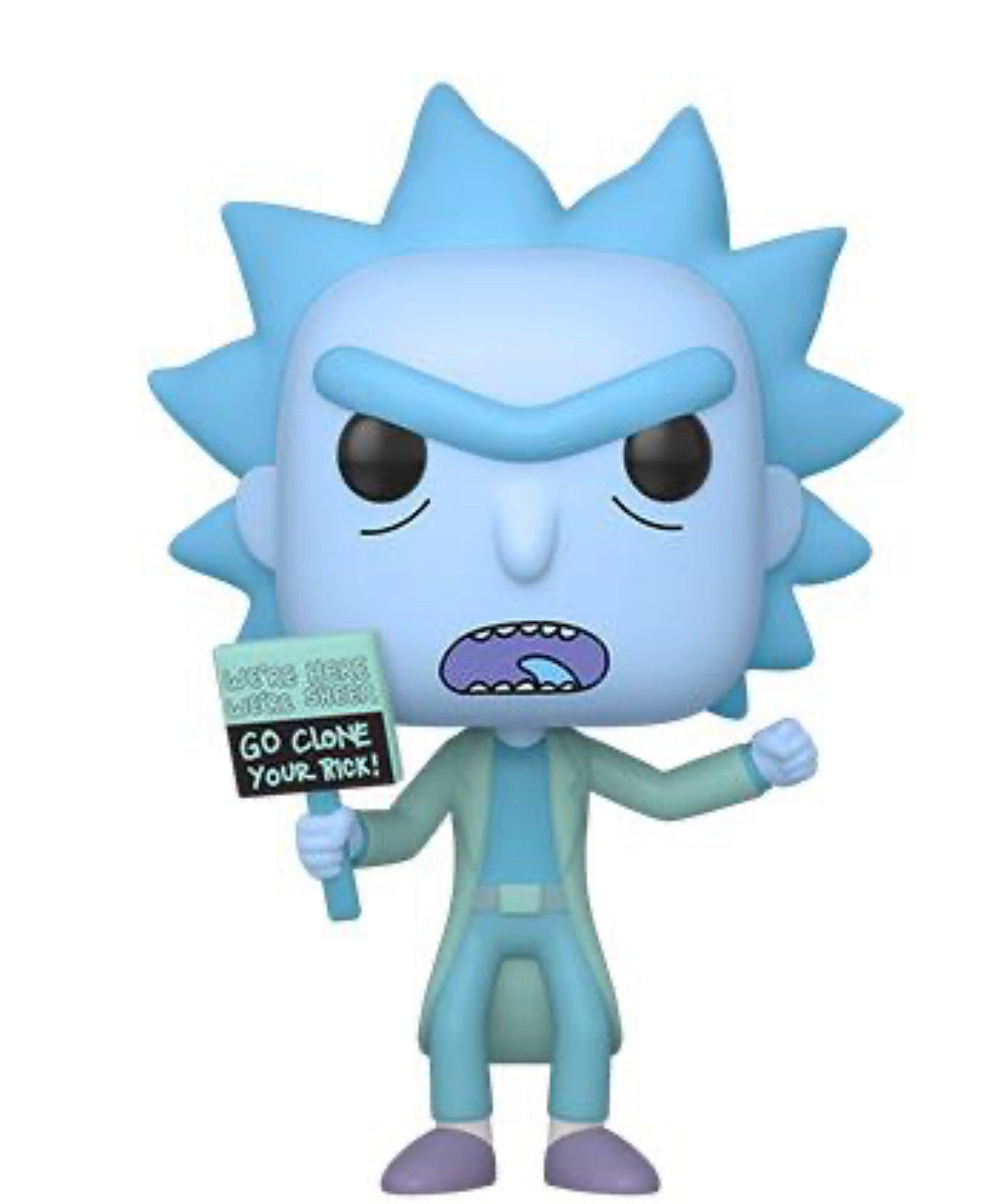 RICK AND MORTY! FUNKO POP! HOLOGRAM RICK CLONE (PRE-ORDER)