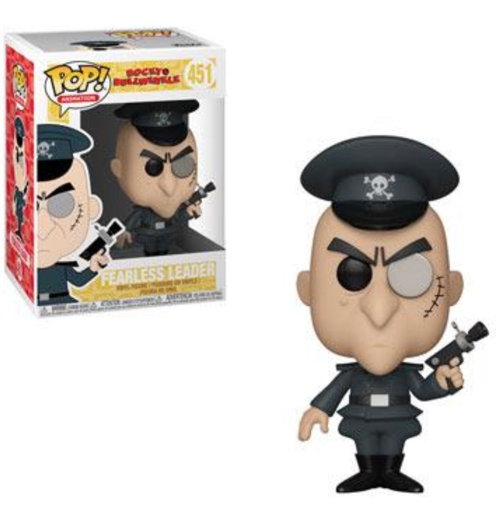 ROCKY AND BULLWINKLE FUNKO POP! FEARLESS LEADER (PRE-ORDER)