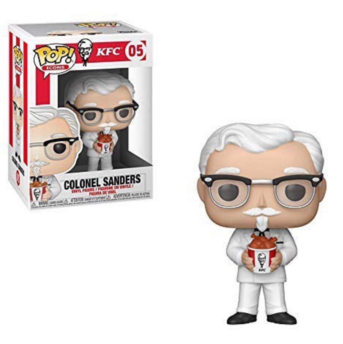 Funko Pop! Icon Colonel Sanders(Preorder)