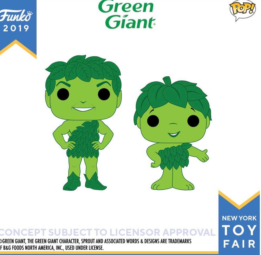 PRE-ORDER - POP! Ad Icons: Green Giant Bundle of 2
