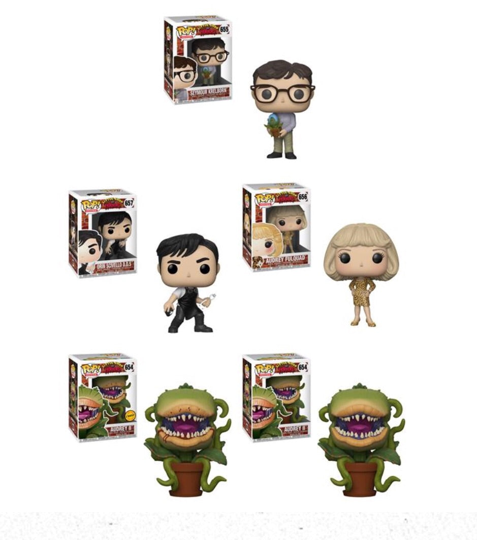 Pop! Movies: Little Shop of Horrors - Bundle
