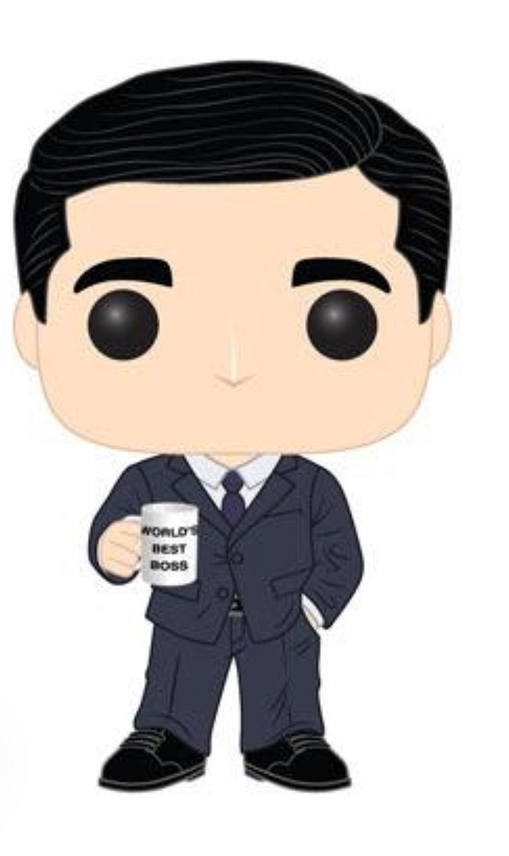 THE OFFICE FUNKO POP! MICHAEL SCOTT (In Stock)