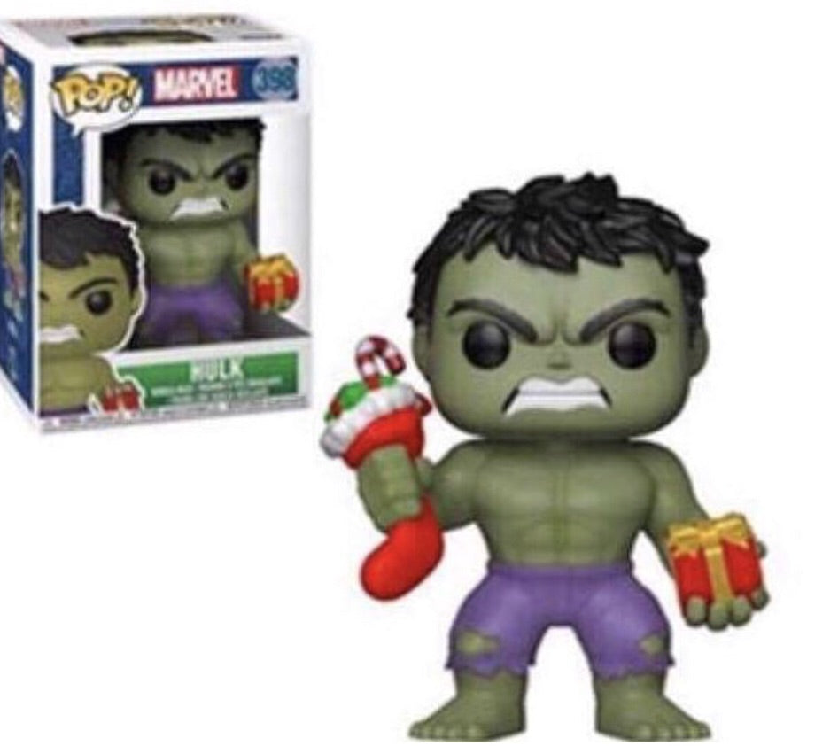 Pop! Marvel: Holiday - Hulk with Stocking
