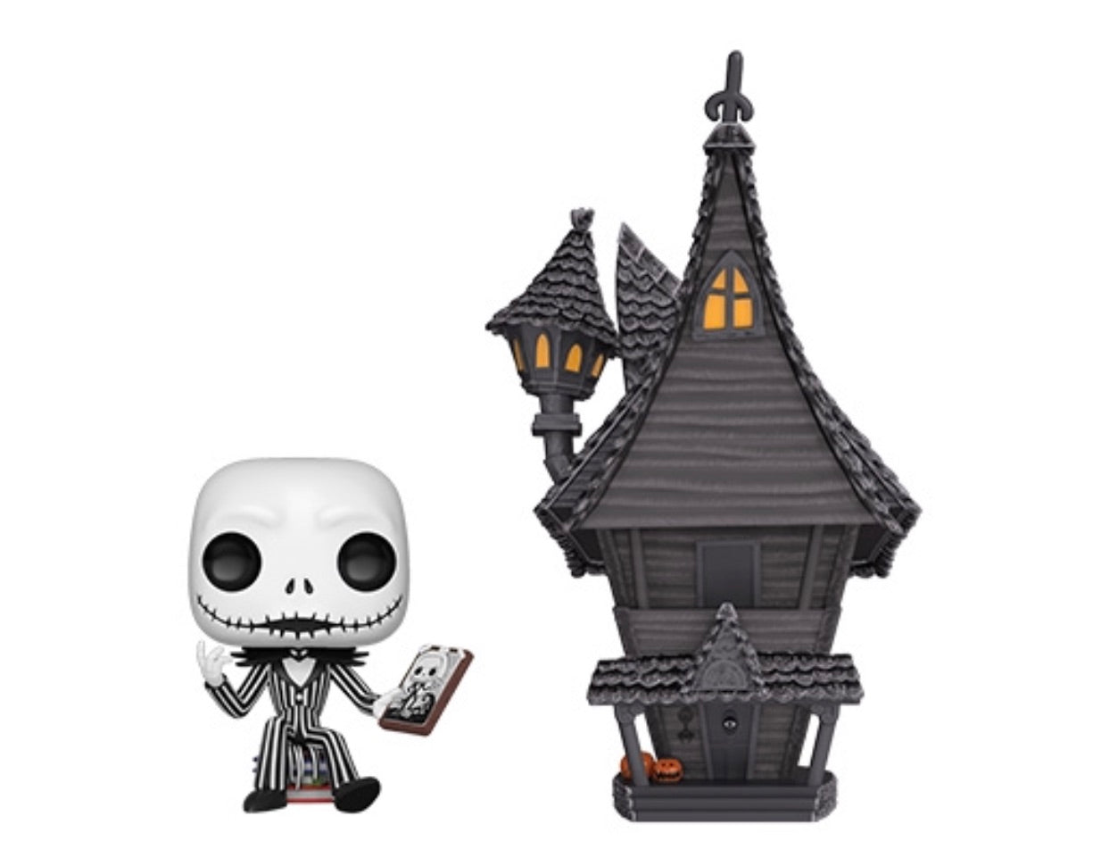 (PREORDER)DISNEY THE NIGHTMARE BEFORE CHRISTMAS POP!TOWN JACK