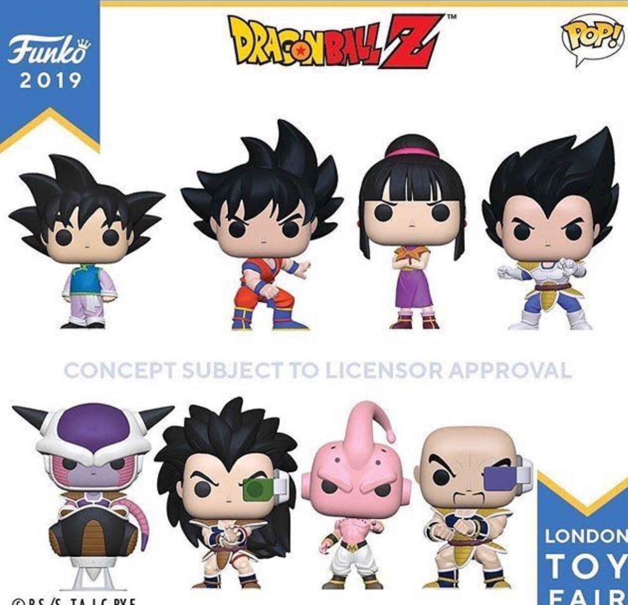 Funko Pop! DragonballZ Bundle of 8(Preorder)