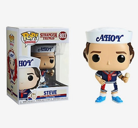 FUNKO STRANGER THINGS POP! TELEVISION STEVE VINYL FIGURE