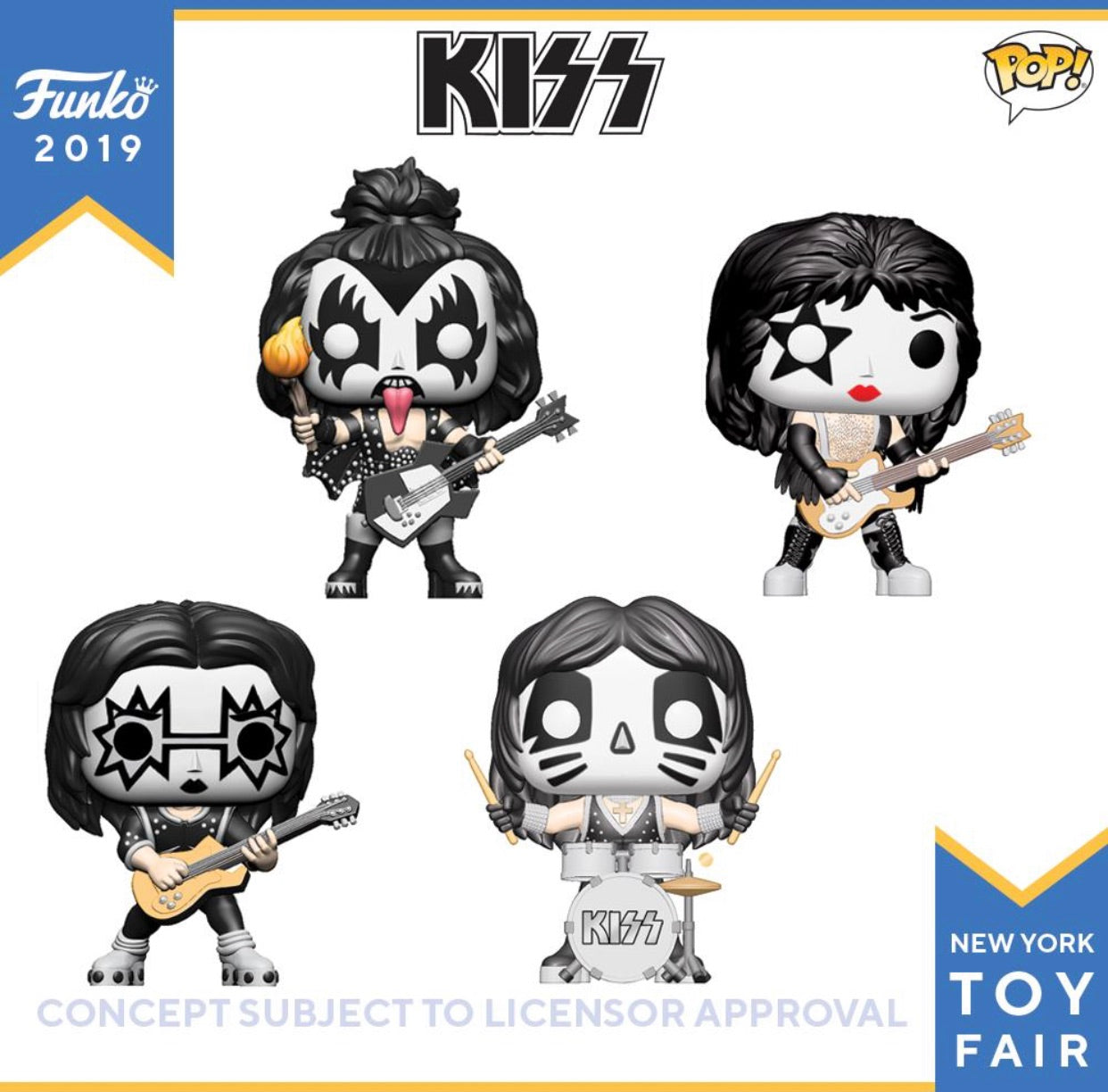 (Preorder)Pop! Kiss Set of 4