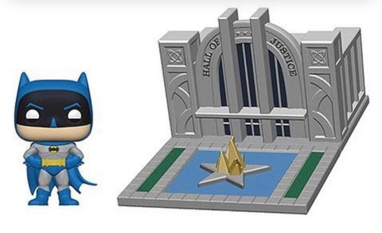PRE-ORDER - POP! Town: Batman Hall of Justice