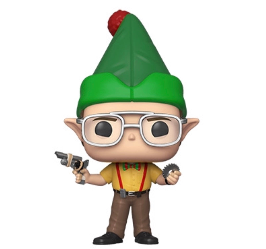 THE OFFICE HOLIDAY FUNKO POP! DWIGHT (AS ELF)