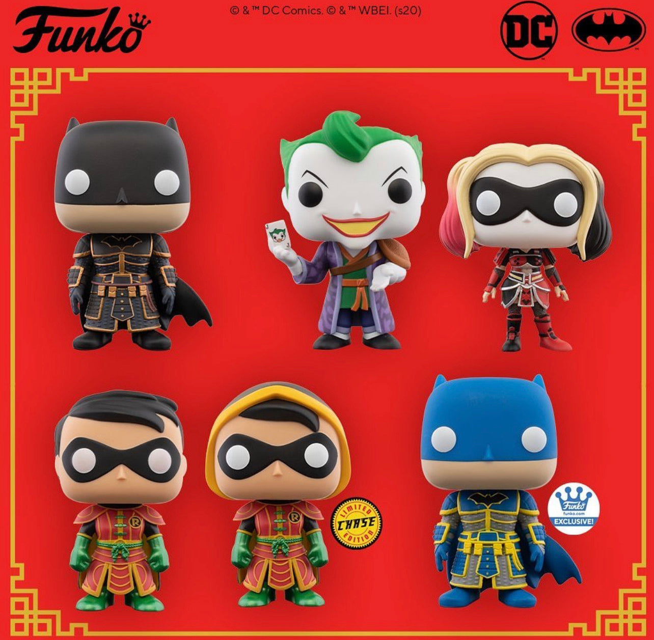 Pop! Heroes: DC Imperial Palace Wave 1 (Preorder)