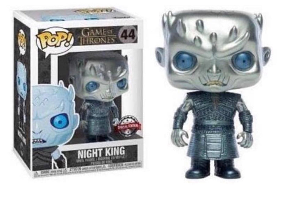 Funko Pop Game of Thrones 44 - METALLIC NIGHT KING - AT&T Exclusive - PREORDER