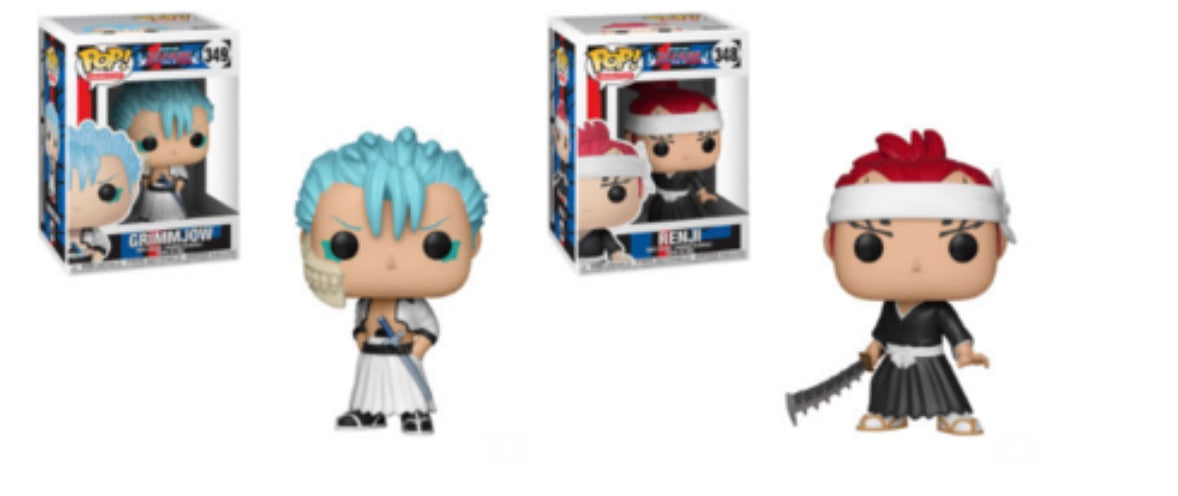 BLEACH FUNKO POP! COMPLETE SET OF 2 (PRE-ORDER)