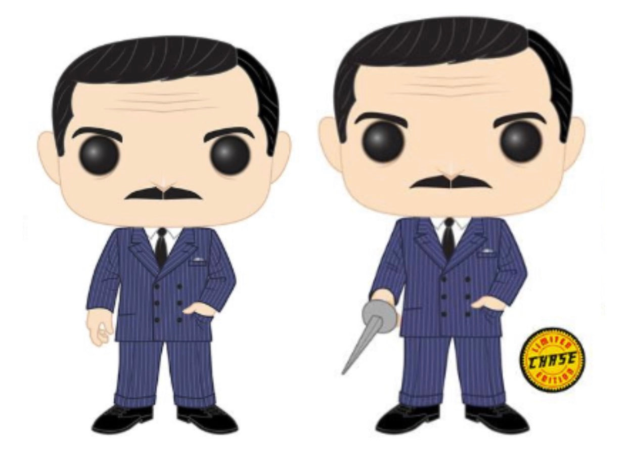 THE ADDAMS FAMILY FUNKO POP! GOMEZ CHASE & COMMON (PRE-ORDER)