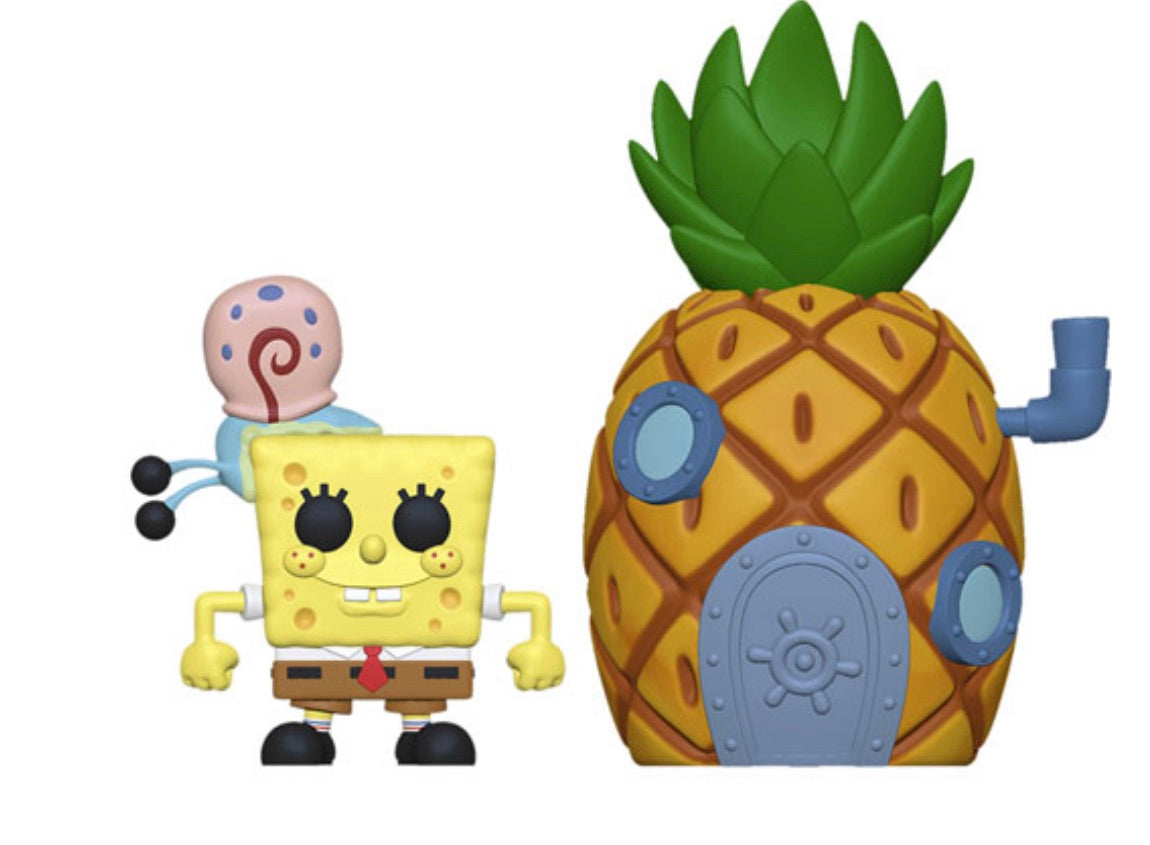 POP! TOWN - SPONGEBOB SQUAREPANTS