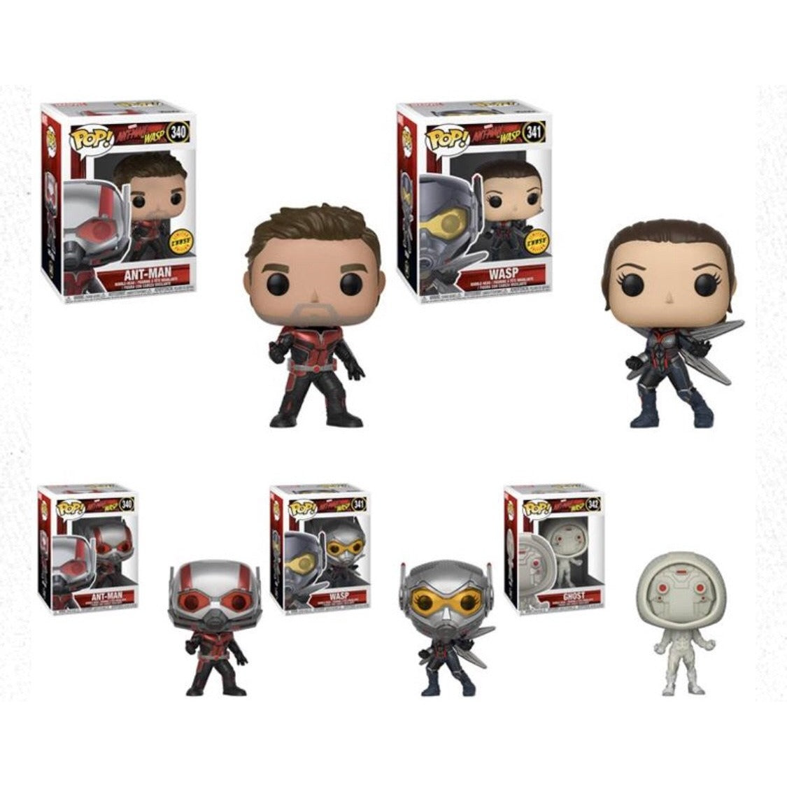 POP Marvel - Ant-Man and the Wasp - Guaranteed Chase Bundle