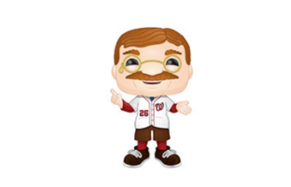 MLB MASCOT FUNKO POP! TEDDY ROOSEVELT (NATIONALS) (PRE-ORDER)