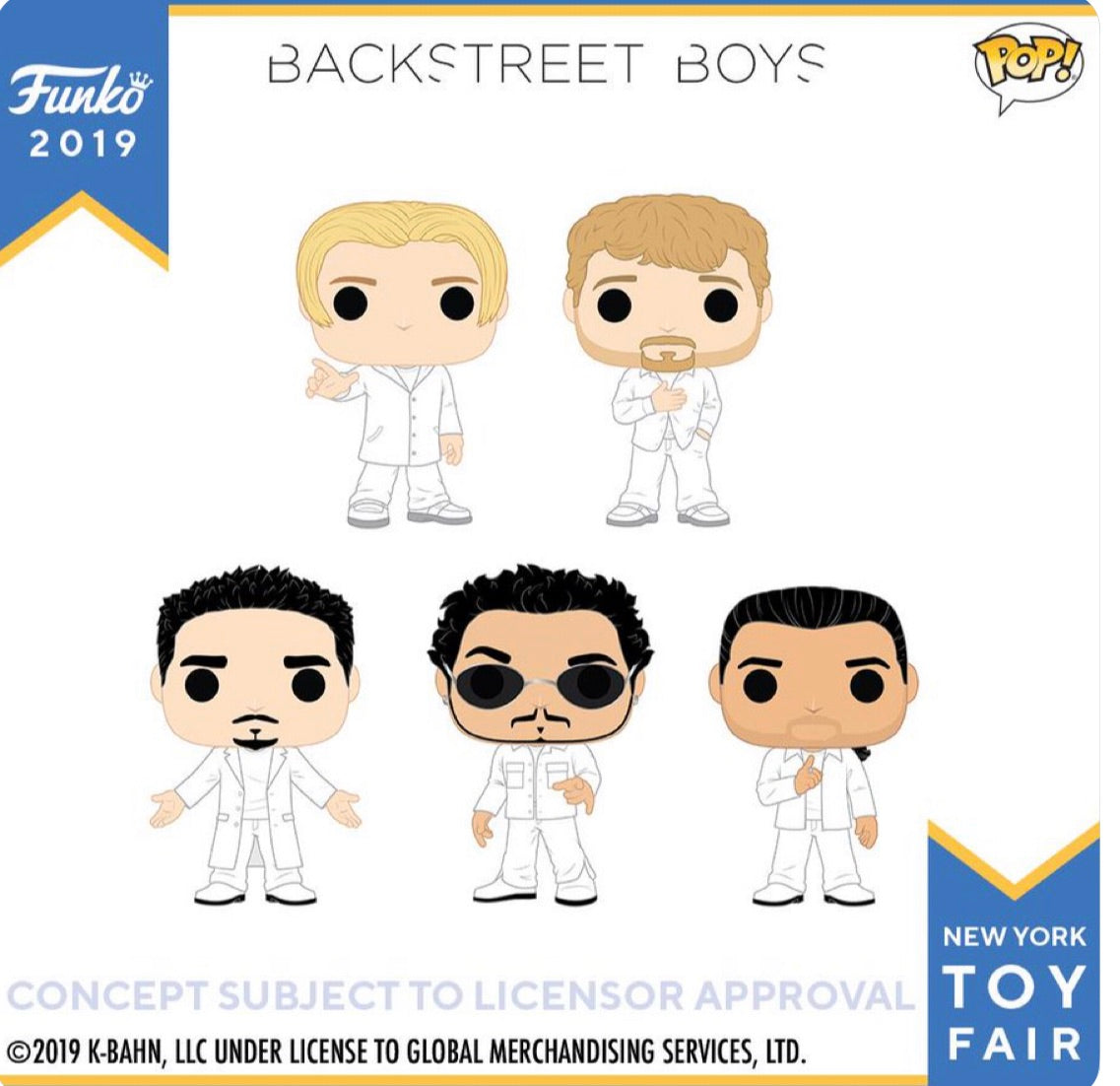 (Preorder) Pop!Rocks Backstreet Boys Set of 5