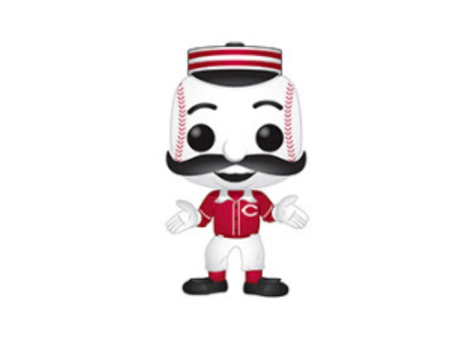 MLB MASCOT FUNKO POP! MR. REDLEGS (REDS) (PRE-ORDER)