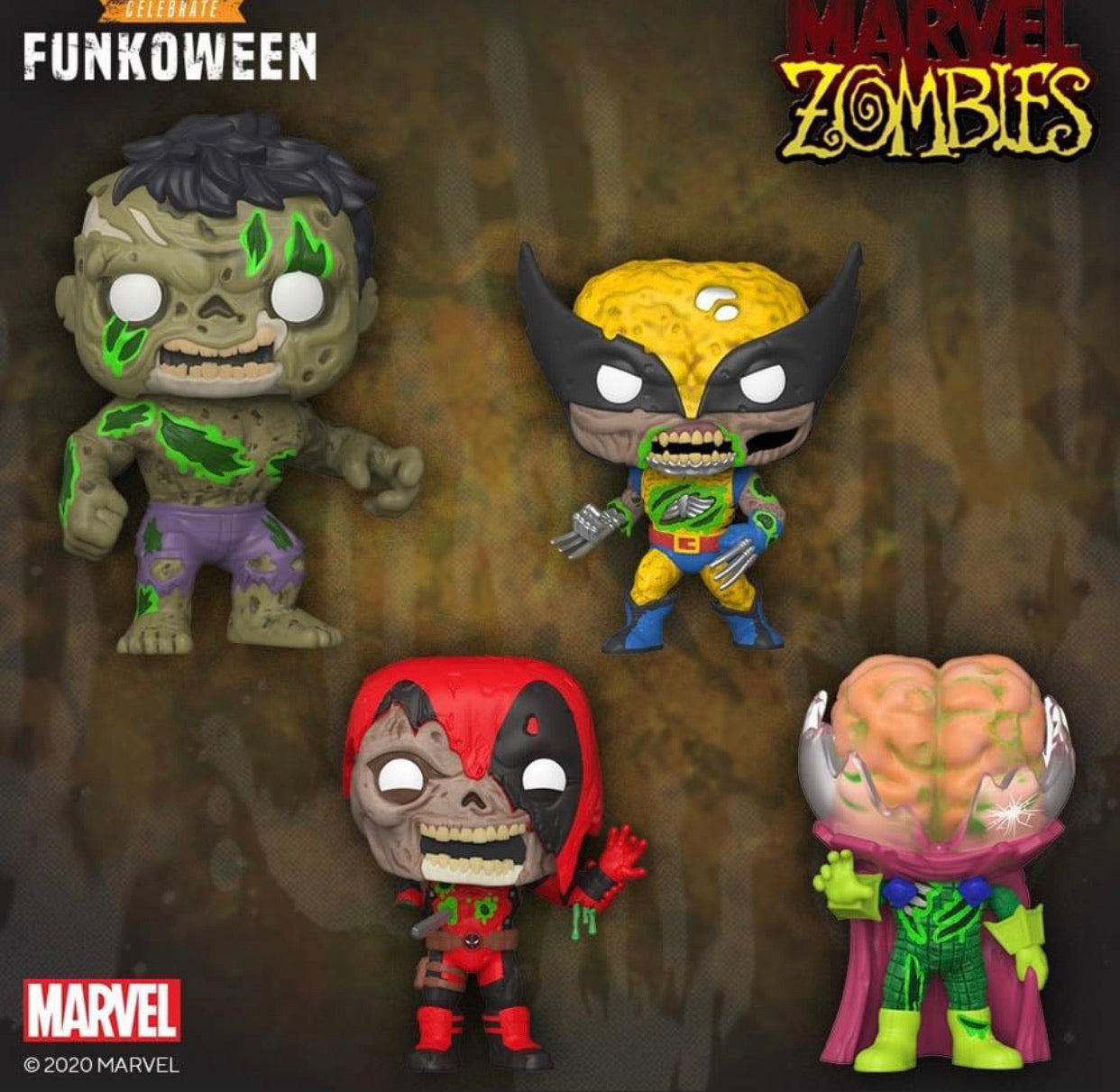 Marvel Zombies Bundle [4 Figures] (PREORDER)