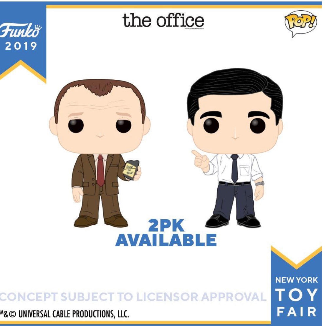 PRE-ORDER - POP! The Office 2 Pack