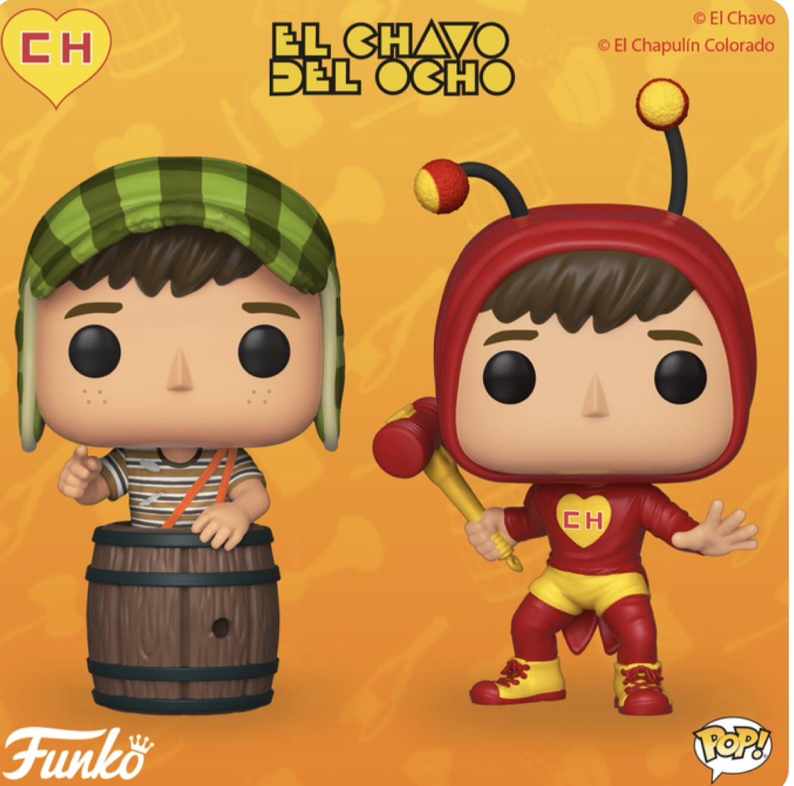 Pop! Television: El Chavo and El Chapulín Colorado(Preorder)