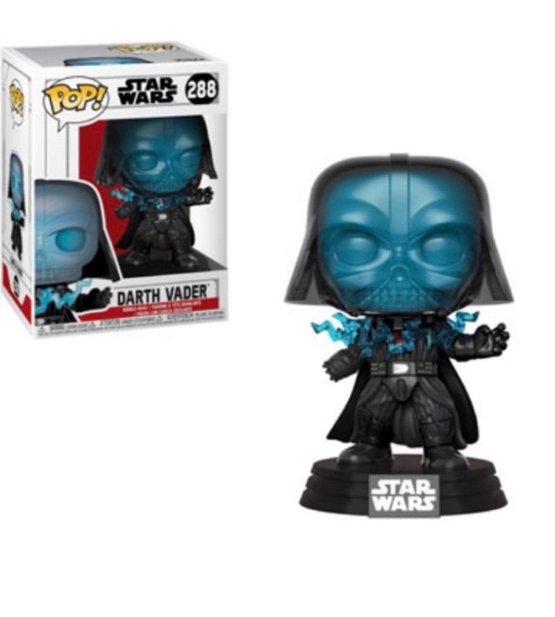 STAR WARS FUNKO POP! DARTH VADER (ELECTROCUTED) #288 (PRE-ORDER)