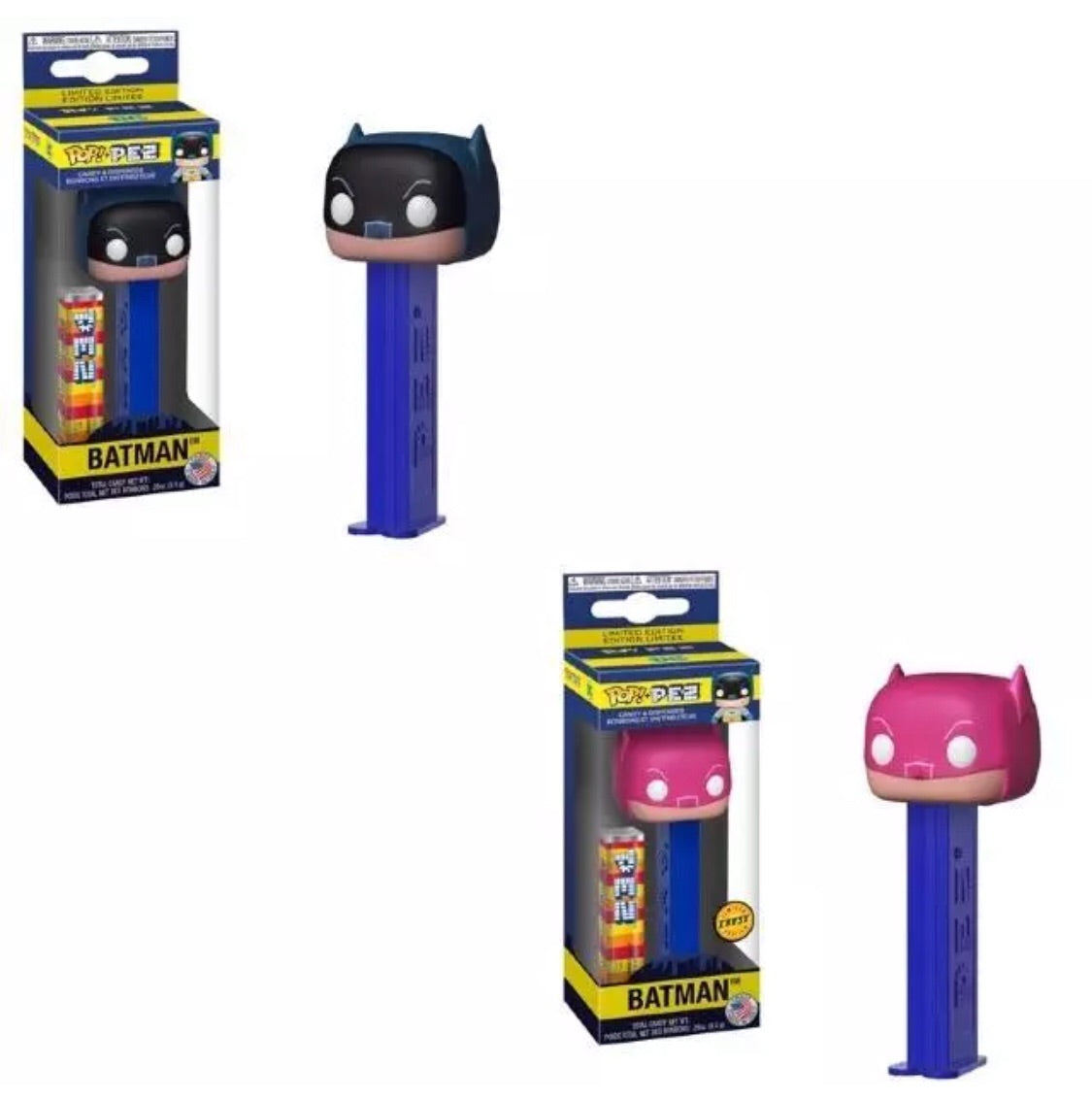 Funko Pop!Pez Batman Chase Bundle