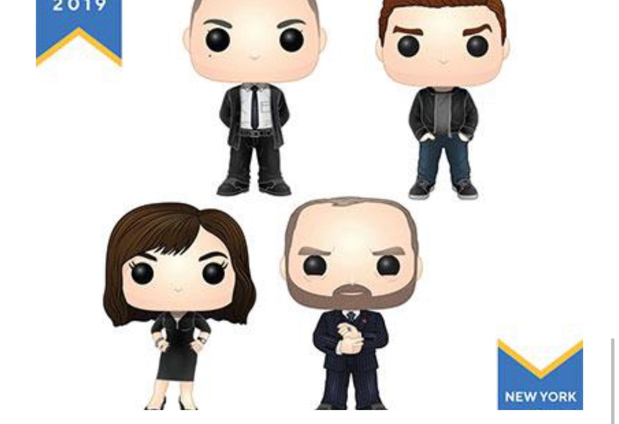 (Preorder)Pop! Television: Billions Set of 4