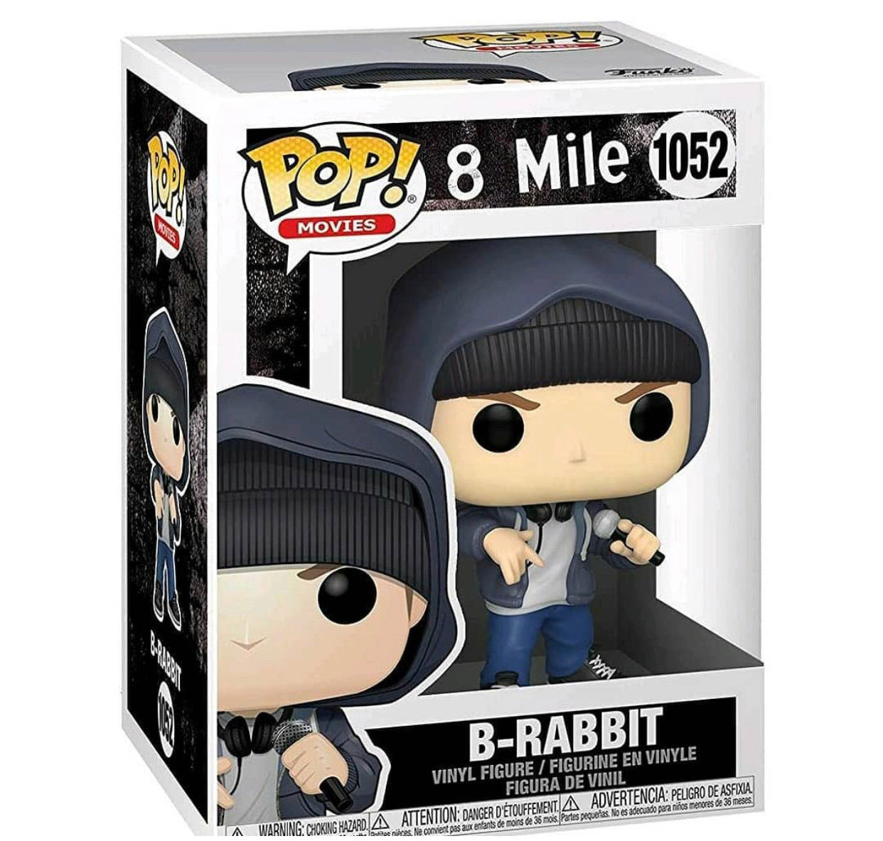 Funko Pop! Movies: 8 Mile - Rabbit(Preorder)