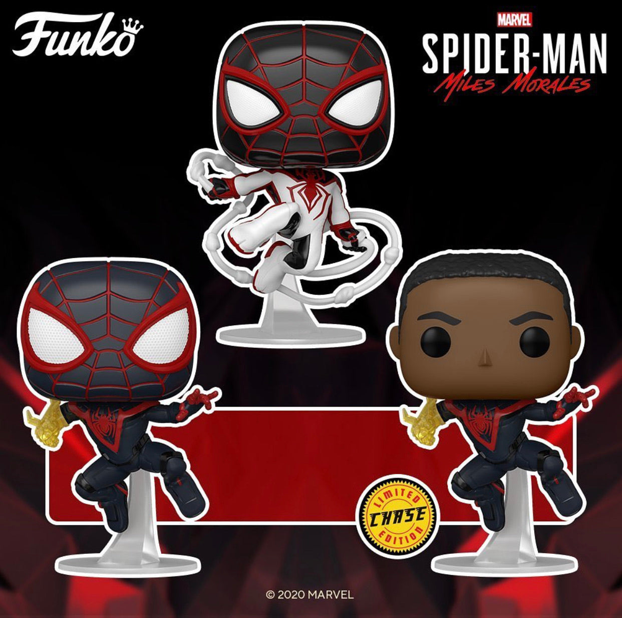 POP Games: Marvel's Spider-Man Miles Morales
