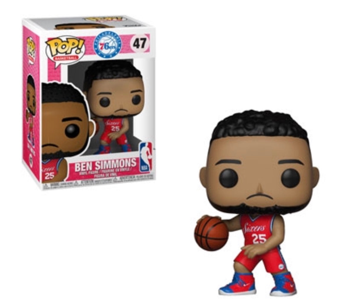 Pop! NBA Ben Simmons(Preorder)