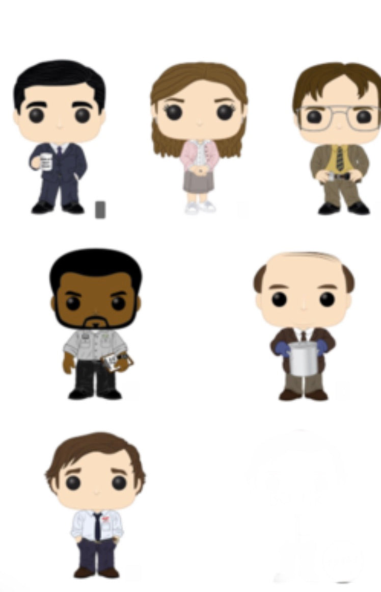 Pop! Television: The Office Set of 6  Bundle