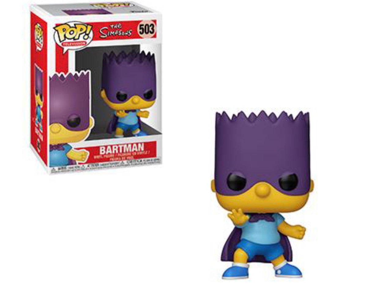 Pop! The Simpsons Bartman
