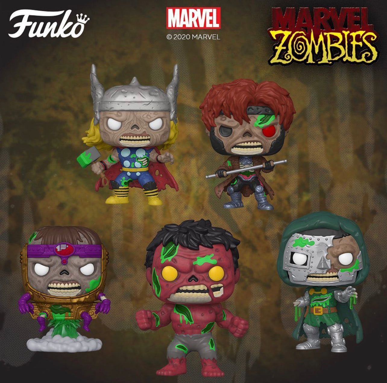 Pop! Marvel: Zombies S2 (Preorder)