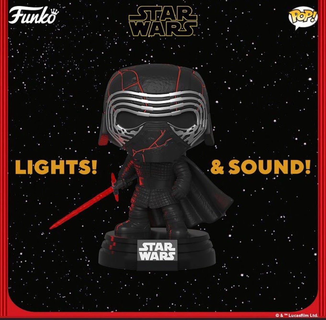 Pop! Star Wars - Rise of Skywalker - Kylo Ren(Electronic)(Preorder)