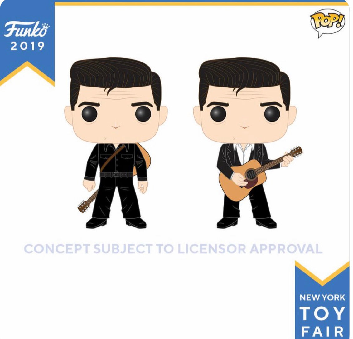 (Preorder)Pop! Johnny Cash Set of 2