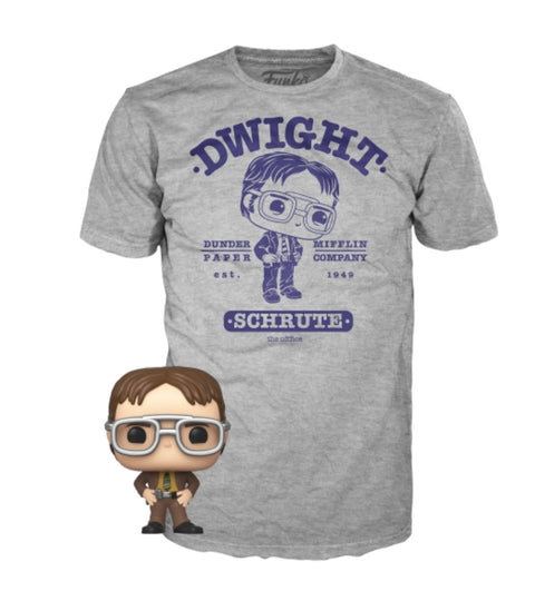 ASST Pocket POP&Tee: The Office- Dwight(PREORDER)